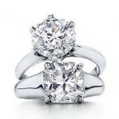 Platinum Solitaire Diamond Engagement Rings