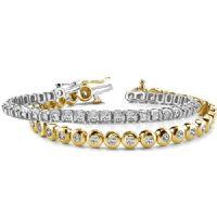 14k Diamond Tennis Bracelets
