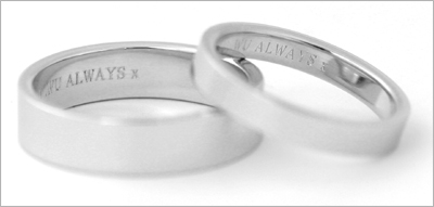 free engraving - Wedding Ring Inscriptions