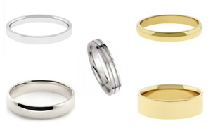 We Have Many Types Of Wedding Bands Engagement Rings And More