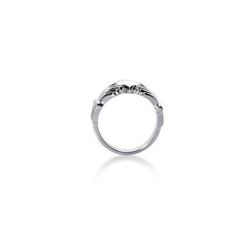 s platinum claddagh ring 106plat mdr114