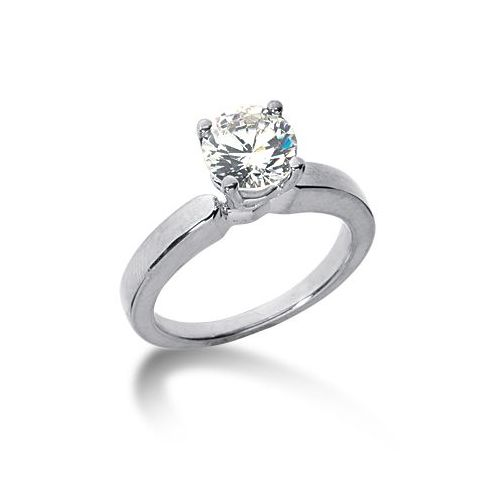 14k Solitaire Diamond Engagement Ring 1 ctw 3000ENGSS14K6382