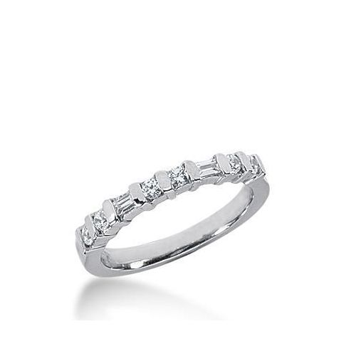 wedding bands gold classic band white ring diamond anniversary stone
