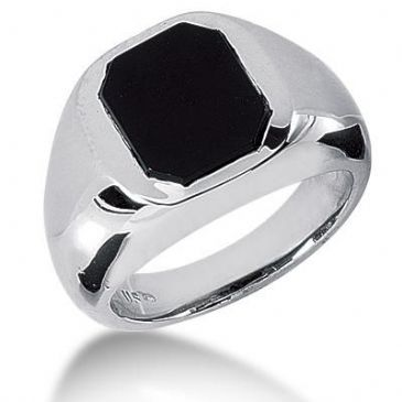Men's Onyx Ring 127-MDR1325