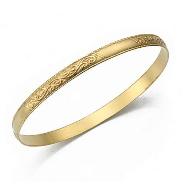 5mm Classic Design Moroccan Womens Bangle 023-5CDMWB