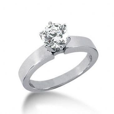 Platinum Solitaire Diamond Engagement Ring 1 ctw. 3002-ENGSPLAT-312