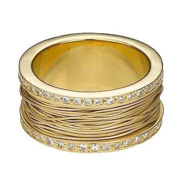 14k Gold 10mm Diamond Wedding Bands Rings 2500