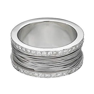 950 Platinum 10mm Diamond Wedding Bands Rings 2500