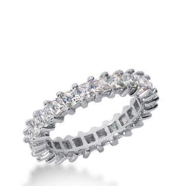 950 Platinum Diamond Eternity Wedding Bands, Shared Prong Setting 2.50 ct. DEB230PLT