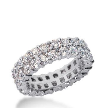 950 Platinum Diamond Eternity Wedding Bands, Prong Setting 2.50 ct. DEB283PLT