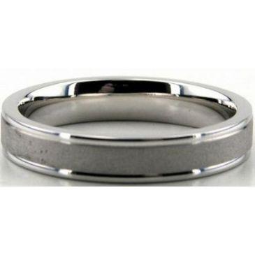 Platinum 950 4mm Diamond Cut Wedding Band 700-4
