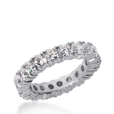 950 Platinum Diamond Eternity Wedding Bands, Prong Setting 3.00 ct. DEB10315PLT