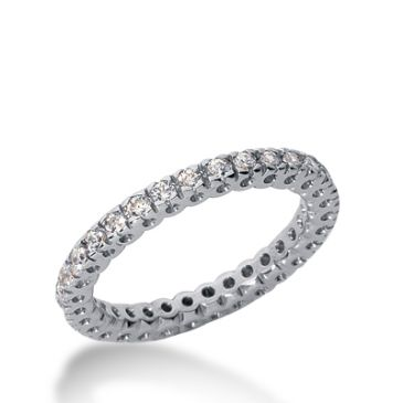 950 Platinum Diamond Eternity Wedding Bands, Box Setting 0.50 ct. DEB254PLT