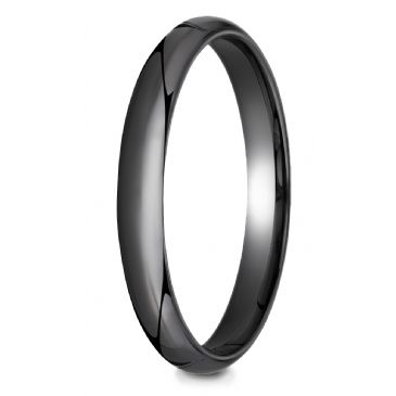 Ceramic 3mm High Polished Design Ring