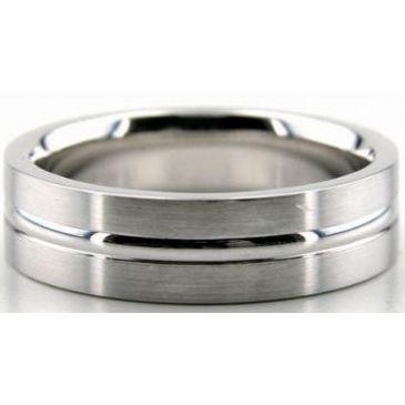 14K Gold 6mm Diamond Cut Wedding Band 643