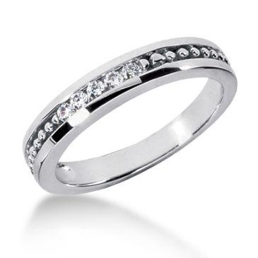 Exclusive 18K Gold & 0.25 Carat Diamond Wedding Ring for Men