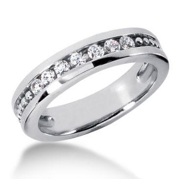 Platinum & 0.35 Carat Diamond Wedding Ring for Women