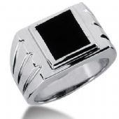 Men's Onyx Ring 128-MDR1224