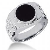 Men's Onyx Ring 136-MDR1340