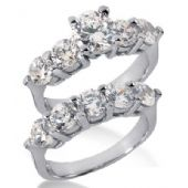 14K Gold Diamond Engagement Bridal Set 4.15ctw. 4009-14KENBR-262