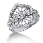 18K White Gold Royal Diamond Anniversary Ring (1.45ctw.)
