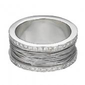 950 Platinum 10mm Diamond Wedding Bands Rings 2500