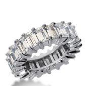 950 Platinum Diamond Eternity Wedding Bands, Shared Prong Setting 11.00 ct. DEB243PLT