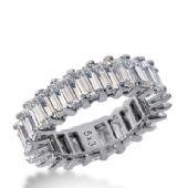 18k Gold Diamond Eternity Wedding Bands, Common Prong Setting 7.50 ct. DEB20318K