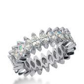 18k Gold Diamond Eternity Wedding Bands, Prong Setting 6.00 ct. DEB20918K