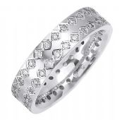 14K Gold Round Brilliant 6mm Comfort Fit Diamond Band 0.60ctw 1165