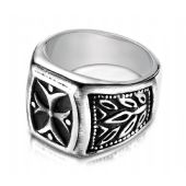 Cobaltchrome 9-mm Fancy Blackened Ring