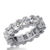 14k Gold Diamond Eternity Wedding Bands, Prong Setting 8.00 ctw. DEB1814514K