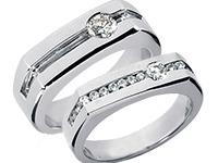 Mens Anniversary Rings